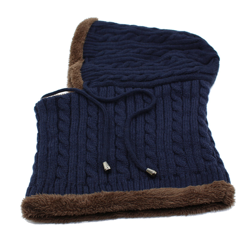 AETRUE Winter Knitted Hat Beanie Men Beany Skullies Beanies Winter Hats For Women Men Caps Gorras Bonnet Mask Brand Hats 2019 4