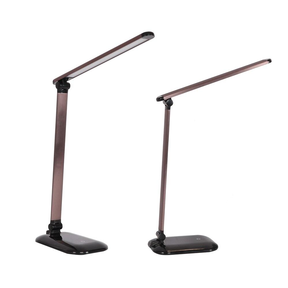 Schreibtischlampen Licht & Beleuchtung Vereinigt Energiesparende Klapptisch Lampe 26 Led Schreibtisch Lampe Usb Lade Büro Lesen Lampen 3 Ebene Helligkeit Studie Lampe Lichter
