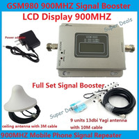 13db Yagi LCD Booster Mobile Phone GSM 980 900mhz Signal Boosters Cellular Phone GSM Signal Repeater