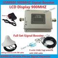 13db yagi + impulsionador LCD! impulsionadores do sinal de telefone móvel GSM 980 900 mhz, amplificador de sinal de telefone celular GSM repetidor de sinal gsm 1 conjunto