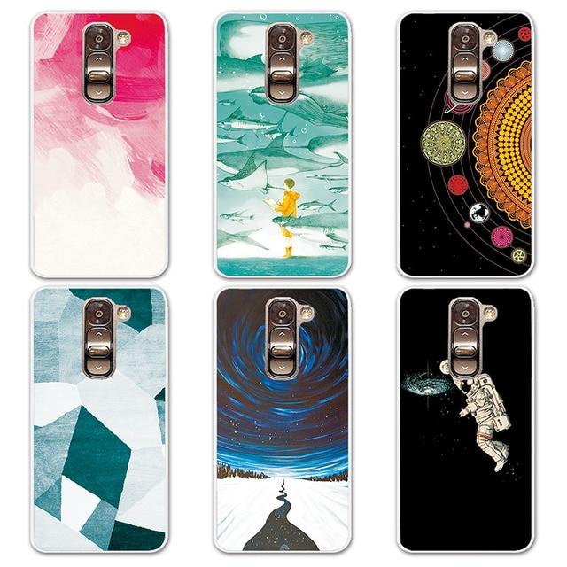 Couple De Cas Telephone Pour LG G2 Mini 14 Modeles Univers Planetes Astronautes Conception