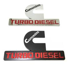 ABS Cum-mins Tur-bo DIESEL Car Emblem Badge