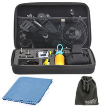 Камеры Gopro Мешок Большой Ремешок Для Sony Действие Cam FDR-X1000V/W 4 К HDR-AS20/AS100V/AS200V GoPro 3 + Hero 3 Hero 1 Hero 2 SJ4000