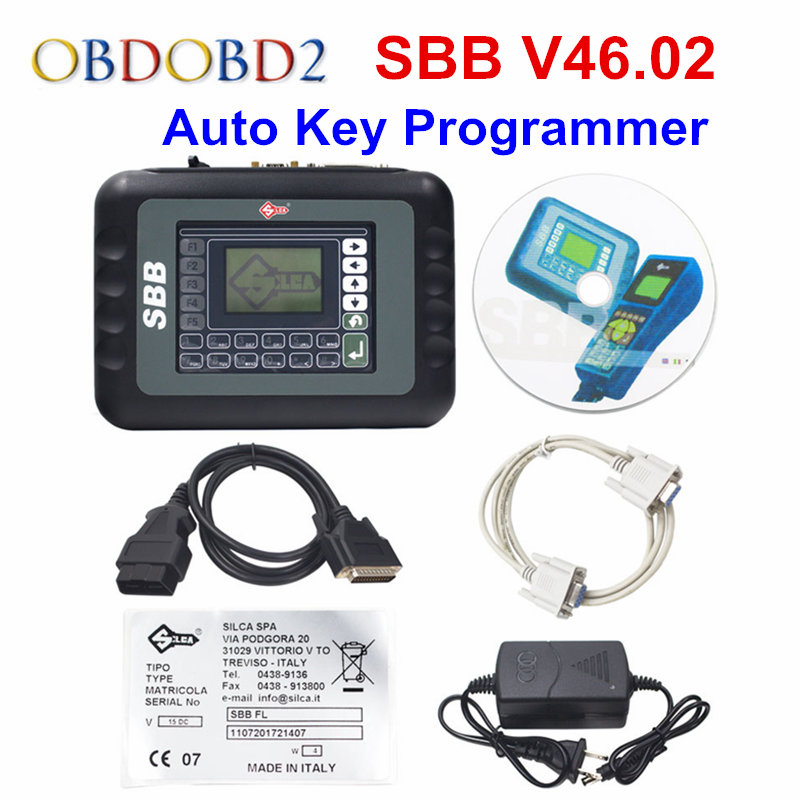 SBB 46.02 Auto Key Transponder Programmer Silca Sbb V46.02 Support Multi-Brands Cars Multi-languages SBB V33.2 Key Maker