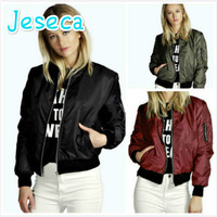 Autumn And Winter New Solid Color Short Fashion Casual Zipper Jacket Fashion Motorcycle Long Sleeve Jacket