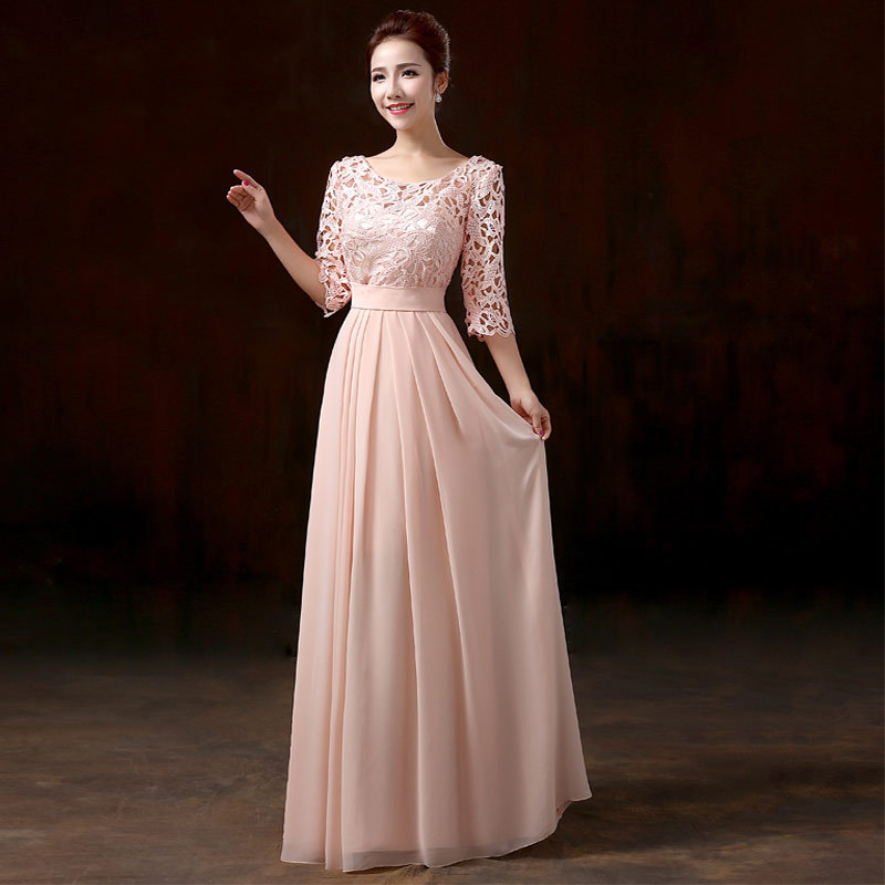 Elegant Lace Evening Gowns - Missy Dress
