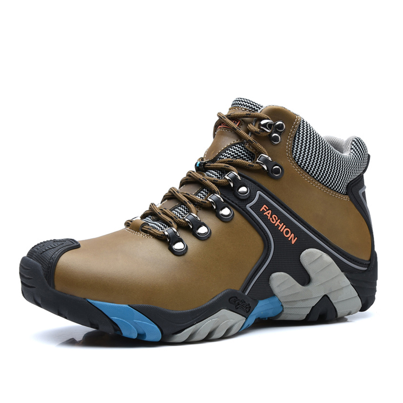Winter outdoor hiking shoes Men climbing shoes walking sport shoes men hiking boots mountain shoes zapatillas deportivas hombre humtto new hiking shoes men outdoor mountain climbing trekking shoes fur strong grip rubber sole male sneakers plus size