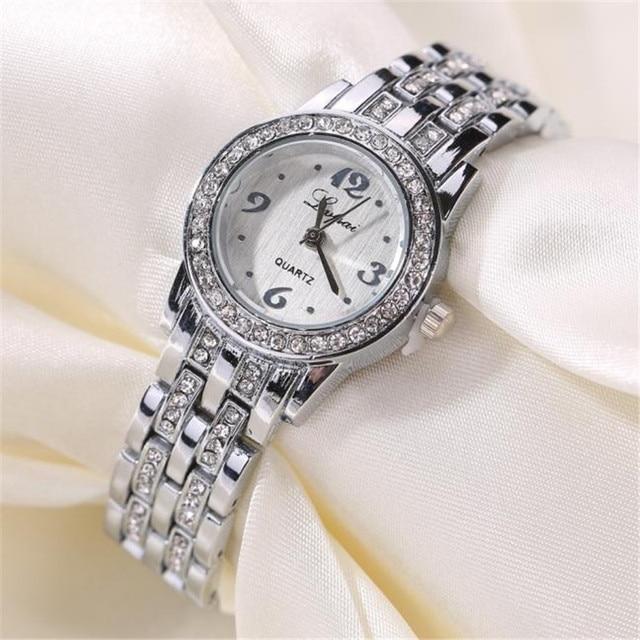 2018 Crystal Luxury Women Bracelet Watches Fashion Vente chaude De Mode De Luxe