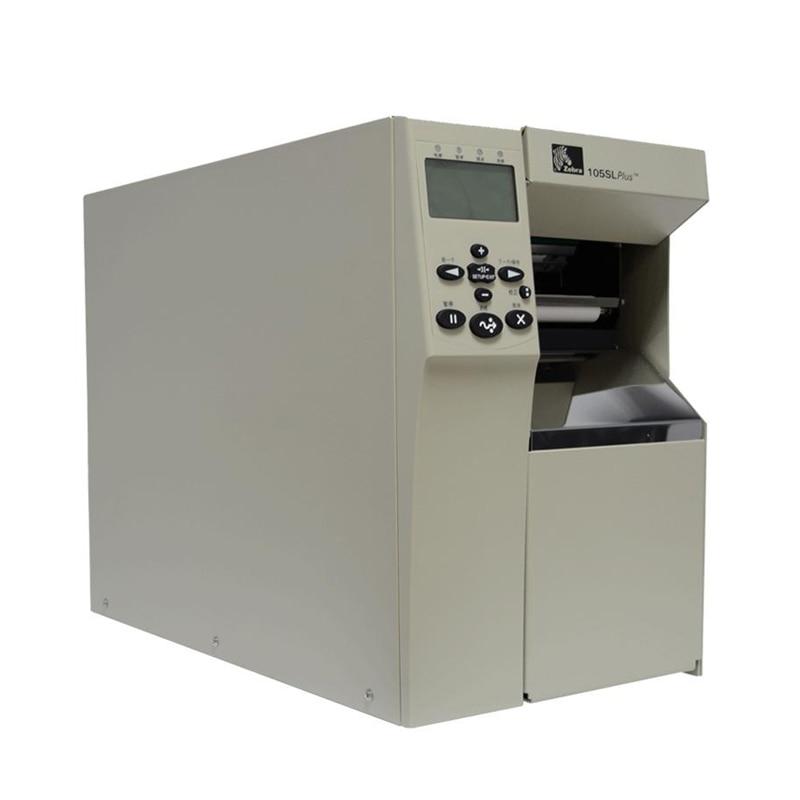 Industrial Zebra printer 105sl plus thermal barcode label printer can keep working 24 hours ribbon printer 203DPI for sale kit main logic board 105sl 4mb for zebra 105sl label printers 34901 020m thermal barcode label printers