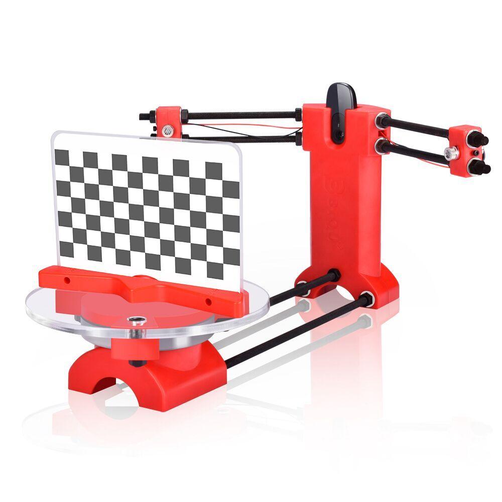 3D сканер DIY лазерные наборы продвинутый лазерный сканер 3d с открытым исходным кодом портативный красный пластик литья под давлением детали ...