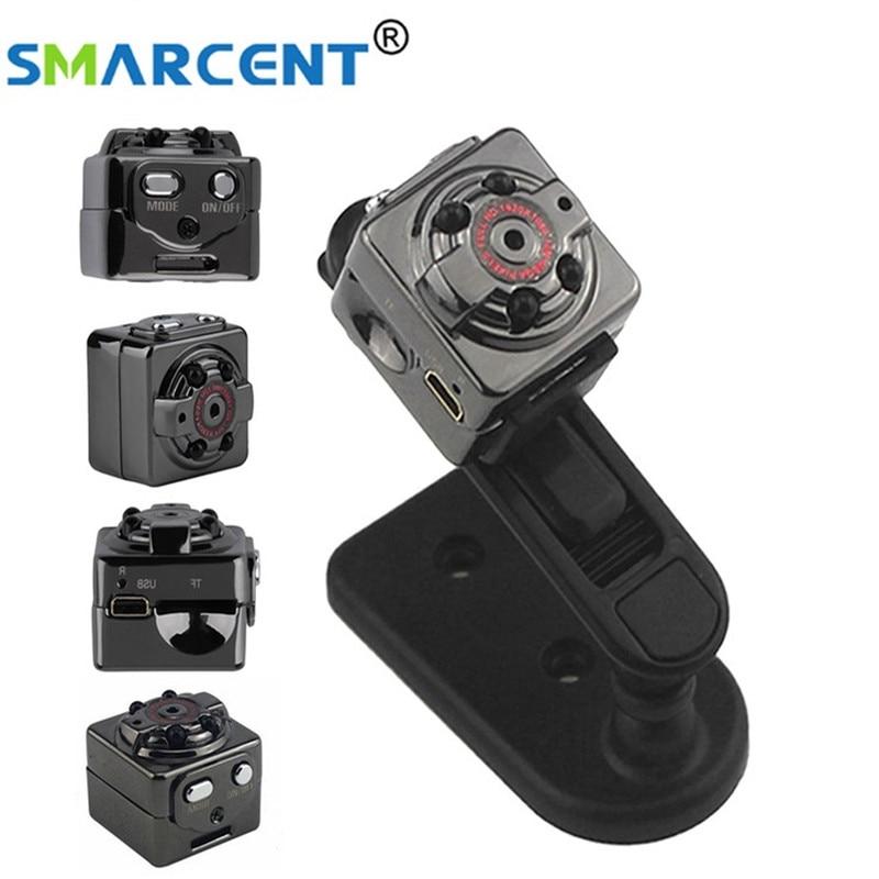 Mini Camera 1080P Full HD Night Vision Camcorder Motion Detecting PC Camera DV DVR Video Recorder 120 Degree Wide Angle SQ8