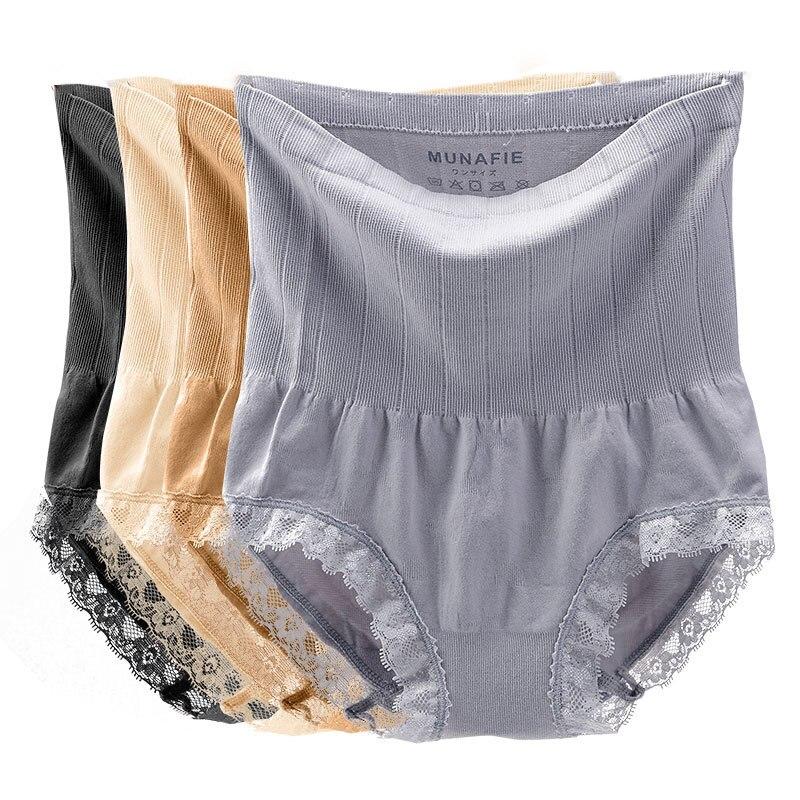 d20d5dc73d2b Munafie High Waist Women's Panties Control Underwear Body Slimming Belly  Sexy Briefs Women Underwear-in women's panties from Underwear & Sleepwears  on ...