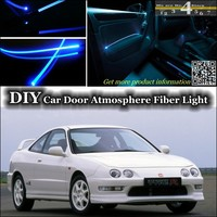 For Acura RSX For Rover 416i Interior Ambient Light Tuning Atmosphere Fiber Optic Band Lights For