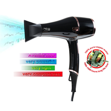 HTG 2300W powerful professional Hair Dryer Blow Dryer Hot with Cold shot EU Plug Hairdryer 110V/240V Ionic keratin HT037A