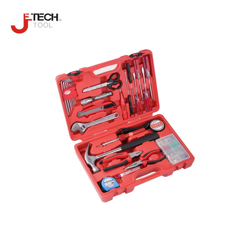 Jetech 26pcs/set electrician's tool alicate universal eletricista household machine electric repair tool set diyfix with case  отвертка jetech 6в1