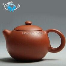 Freies Verschiffen Shih topf Yixing teekanne Rot Schlamm Hallo Qualität 200 ML