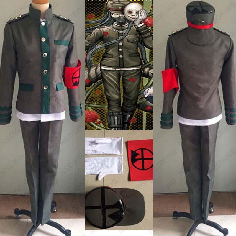 buy anime new danganronpa v3 korekiyo shinguji cosplay costume school uniform. Black Bedroom Furniture Sets. Home Design Ideas