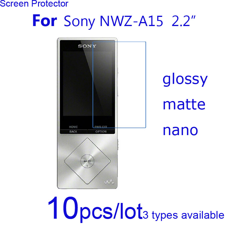 10pcs Clear/matte/Nano Explosion Proof Protective Films for Sony Xperia T TL LT30P/walkman NWZ-A15 Screen Protector Guard Shield ...