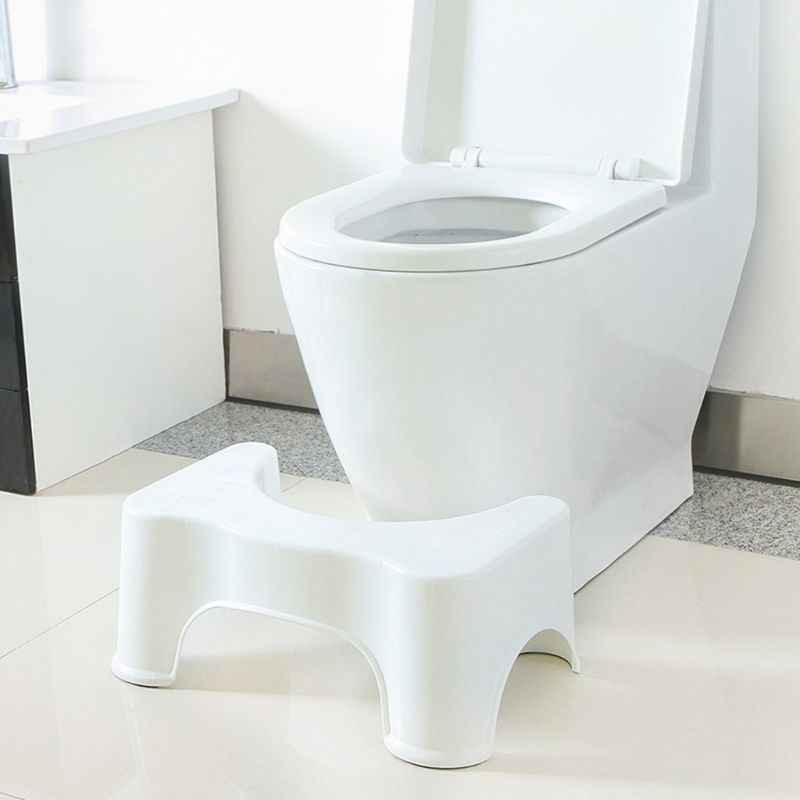 39x22.5x17cm U-Shaped Squatting Toilet Stool Non-Slip Pad Bathroom Helper Assistant Footseat Relieves Constipation Piles new