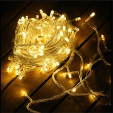 10M Christmas 100LED Garland String Fairy Party Light Wedding Holiday Decor Waterproof Outdoor AC110V/220V