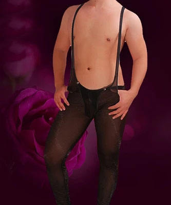 Hot Selling Sexy Men's Bodysuit Gay Bodywear Leotard Underwear Sleepwear Lingerie mens bodysuit gay penis jockstrap