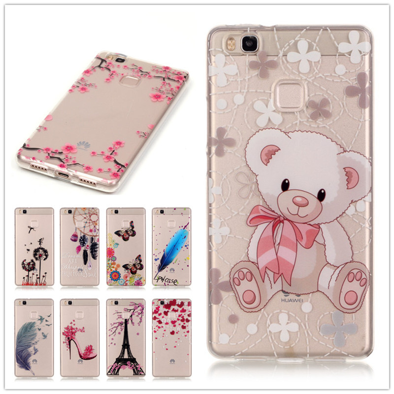 buy fashion case for coque huawei p9 lite case silicon 5 2 inch back cover for