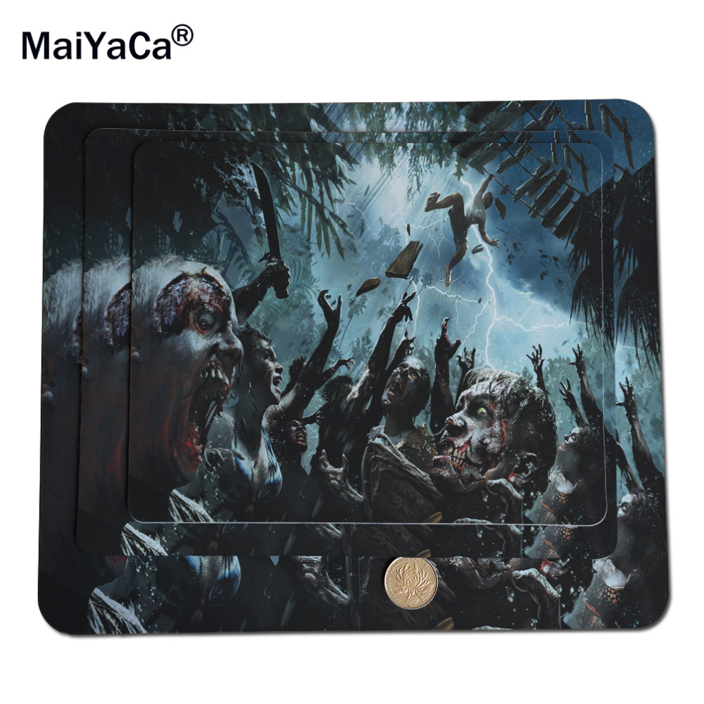MaiYaCa Cool Dead Island Rubber Mouse Pad Desk Mat 18*22cm and 25*29cm