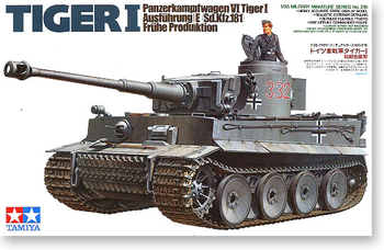1/35 German Tiger Tank Initial Stage 35216 World War II