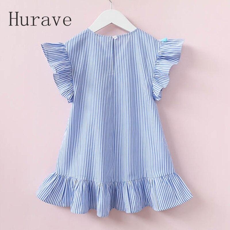 Hurave-girls-dress-girl-clothing-tassel-dress-for-girl-striped-robe-fille-ruffles-kids-clothing-beautiful-blue-vestidos-1