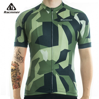 Racmmer 2018 Quick Dry Cycling Jersey Summer Men Mtb Bicycle Short Clothing Ropa Bicicleta Maillot Ciclismo Bike Clothes #DX-51