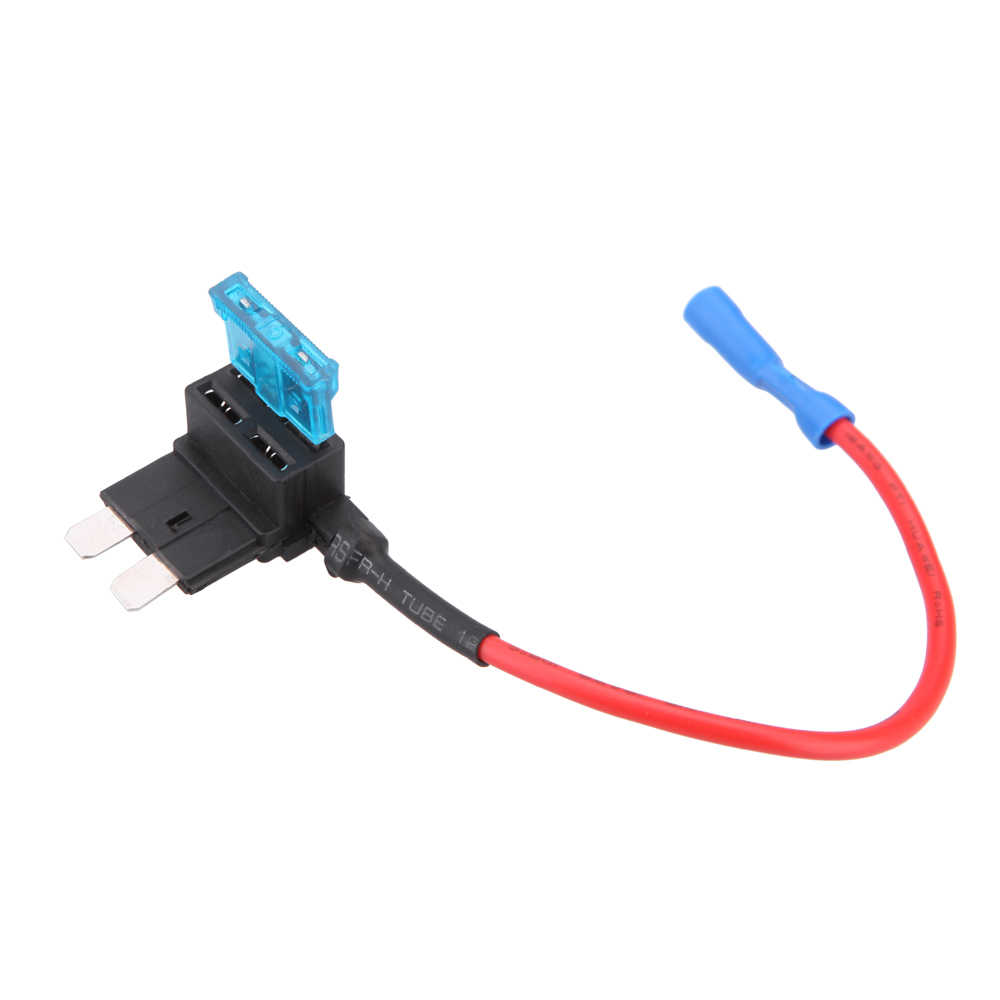 car style a circuit standard/mini/micro blade fuse boxes holder piggy back  fuses