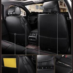 Image 5 - Kalaisike in Pelle Seggiolino Auto Universale Copre per Volkswagen Tutti I Modelli Vw Touran Variant Magotan Jetta Passat Polo Golf Touareg