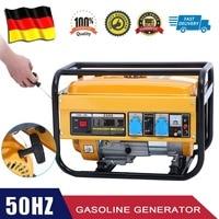 WX 2500A мощность генератор 2800 Вт бензиновый генератор прочный аварийный питание электрическое оборудование ЕС разъем
