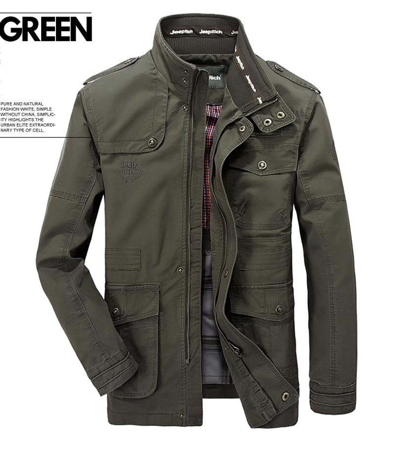 plus size 6XL 7XL 8XL 100% cotton Jackets Men Military Cargo Jackets Tactical Combat Business male Coat Pilot Bomber Jackets men