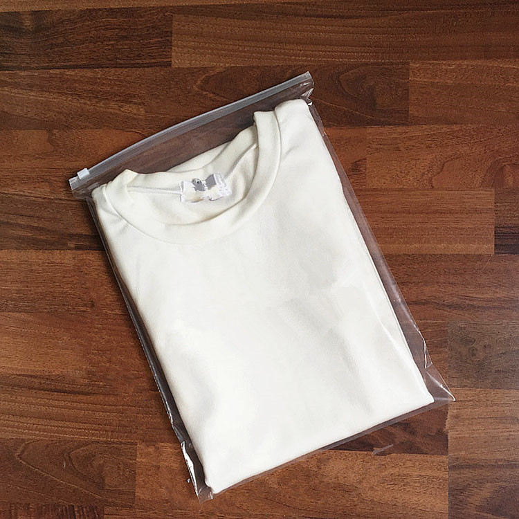 22*20cm 50Pcs Clear Cosmetic Makeup Toiletry Wash Zipper Plastic Bag Transparent Travel Portable Gift Household Storage Pouches