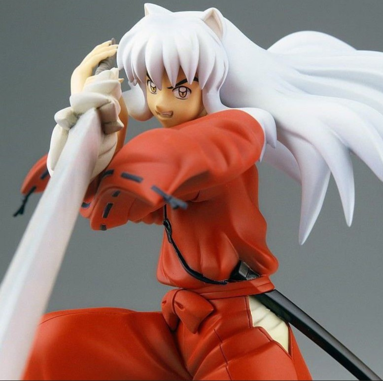 JHACG 19cm Inuyasha Action figure toys doll Christmas gift with box new hot 19cm gintama kagura leader action figure toys collection doll christmas toy with box