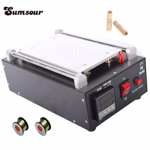 Built-in Vacuum Pump LCD Separator Touch Screen Separating Machine For Max 7-inch Phone Glass Lens High Quality