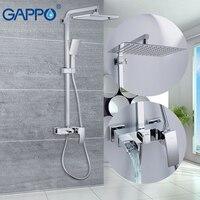 GAPPO อ่างอาบน้ำก๊อกน้ำอาบน้ำน้ำก๊อกน้ำห้องน้ำก๊อกน้ำน้ำตก wall bath ก๊อกน้ำติดผนัง