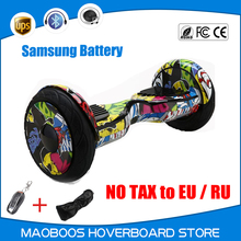 UL certified Hoverboard 10 inch protable Drift scooter overboard oxboard unicycle electrico self balance eletric Hover board