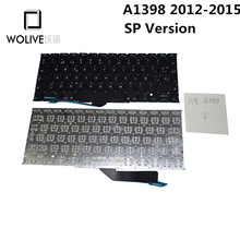 Genuine SP Brand new Keyboard language version SP For Macbook Pro Retina 15″ A1398 2012~2015 Replacement