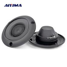 AIYIMA 2Pcs 2.5Inch Piezo Tweeter 25W Ceramics Piezo Treble Speaker Piezoelectric Audio Speaker Buzzer Treble DIY Home Theater