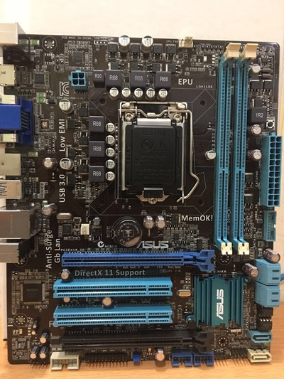 все цены на Free shipping original motherboard for ASUS P8B75-M LE DDR3 LGA 1155 for I3 I5 I7 22/32nm CPU 32GB B75 Desktop motherboard