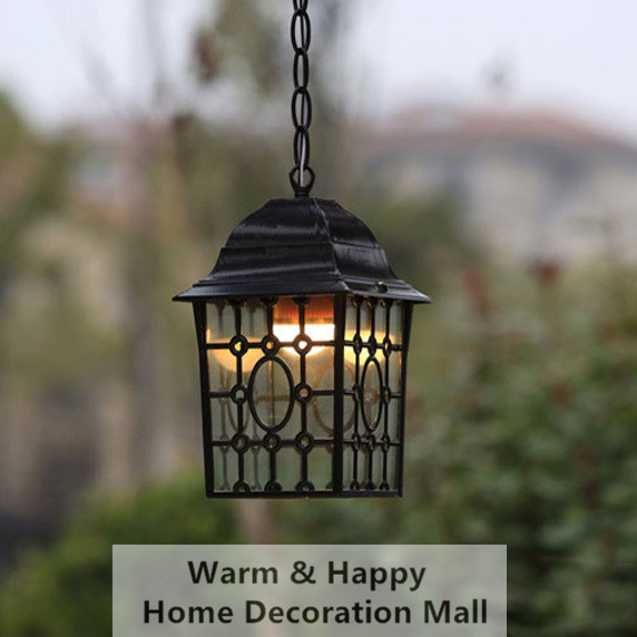 Outdoor Lighting Led Vintage Pendant