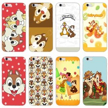 Chip y dale ardilla estuche para teléfono suave para iPhone XR X XS X Max 8 7 6s 6 plus SE 5S 5c 5 iPod Touch(China)