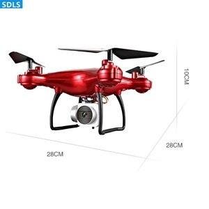 "Image 5 - מקסימום 25 דקות לשחק 2.4G RC מל ""טים Quadrocopter מסוק 1080P WIFI FPV HD מצלמה סט גובה מחזיק 3D מתגלגל מסלול טוס"
