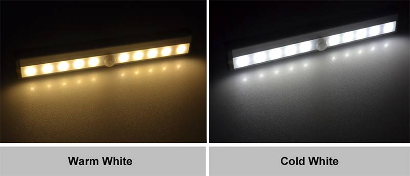 HOTOOK Night Lights LED IR Sensor de movimiento Barra de luces LED - Luces nocturnas - foto 5