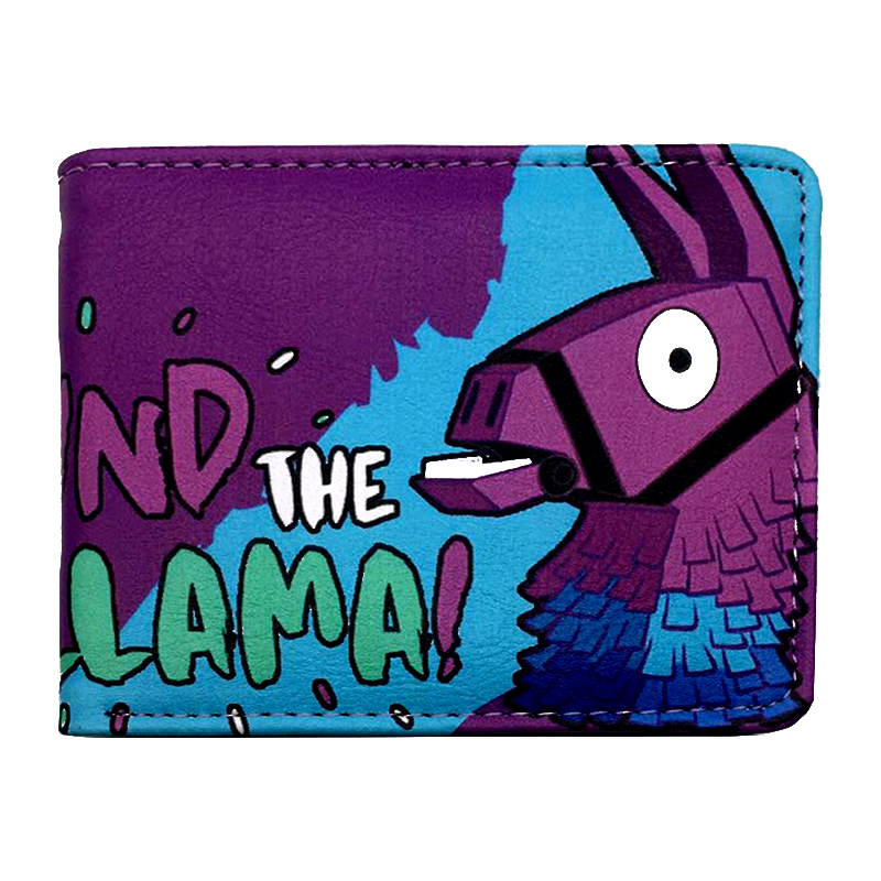 Wallet Coin-Bag Game Lama Action-Gift Battle Royale Cartoon Super-Hot Figure-Toys Surrounding