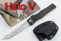 JUFULE Halo Iv 4 V 5 Combat Troodon D2 Blade Aluminum Handle Camping Hunting Survival Outdoor