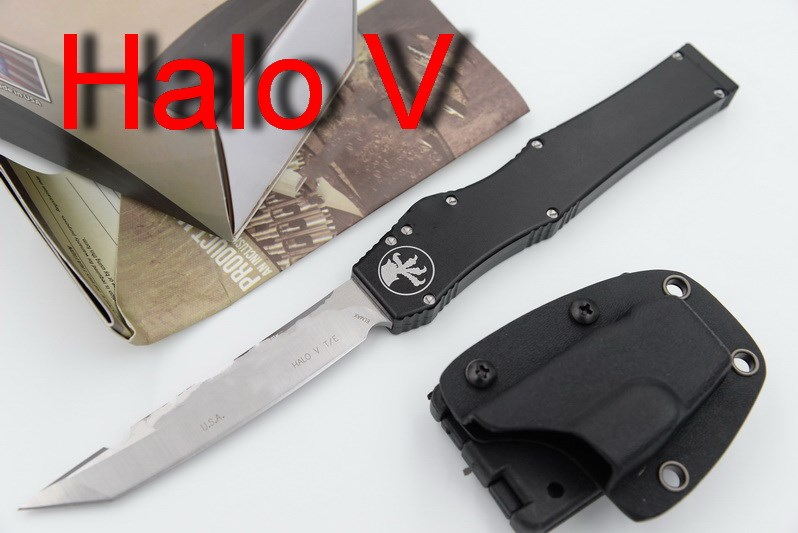 JUFULE Halo Iv 4 V 5 Combat Troodon D2 blade aluminum handle camping hunting survival outdoor EDC hand tool set kitchen knife iso iv training hand venipuncture hand model iv injection hand model
