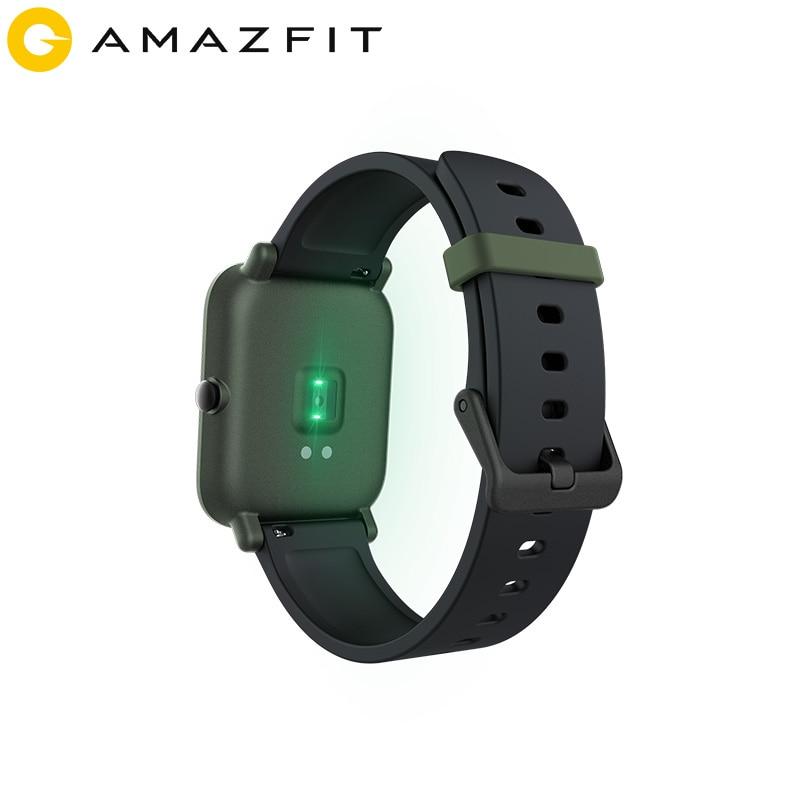 Huami Amazfit Bip reloj inteligente Bluetooth GPS Monitor de ritmo cardíaco IP68 resistente al agua recordatorio de llamada MiFit APP vibración de alarma - 3